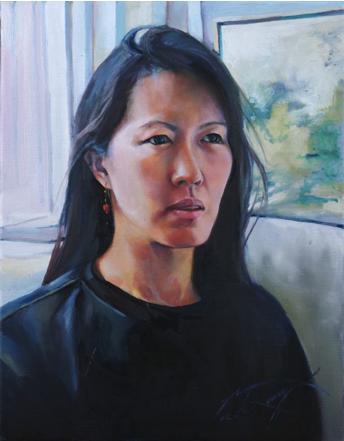 Portrait by Nicole Bourgea
